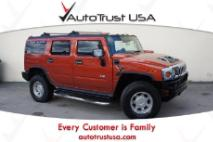 2003 HUMMER H2 Clean Carfax Leather 4WD