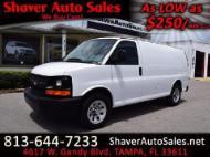 2009 Chevrolet Express Cargo Van 1500