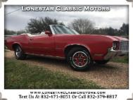 1972 Oldsmobile Cutlass Convertible
