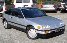 1989 Honda Civic CRX Si