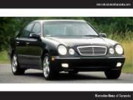 2000 Mercedes-Benz E-Class E 55 AMG