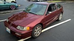1991 Honda Civic CRX Base