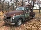 1949 Chevrolet  Old school wrecker *No Reserve*