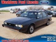 1986 Chevrolet Celebrity Base