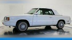 1986 Dodge 600 ES Turbo