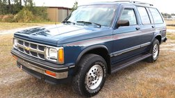 1994 Chevrolet S-10 Blazer 4X4 69k Miles S10 Truck CLEAN 100+ Hd Pictures