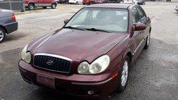 2004 Hyundai Sonata Red