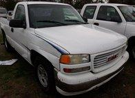 2000 GMC Sierra 1500 White
