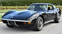 1972 Chevrolet Corvette Stingray Numbers Matching