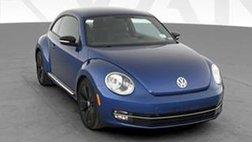 2012 Volkswagen Beetle 2.0T Turbo Hatchback 2D
