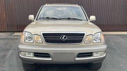 2001 Lexus LX 470 Base