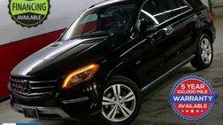 2012 Mercedes-Benz M-Class ML 350 BlueTEC