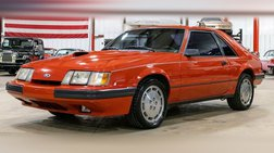 1986 Ford Mustang SVO Turbo