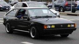 1985 Volkswagen Scirocco Base