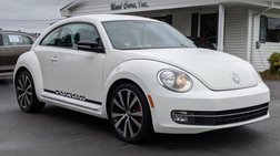 2012 Volkswagen Beetle White Turbo Launch Ed.