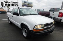 2002 Chevrolet S-10 Ext Cab 123