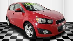 2013 Chevrolet Sonic LTZ Manual