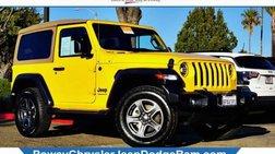 2020 Jeep Wrangler Black and Tan