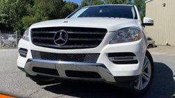 2015 Mercedes-Benz M-Class ML 350