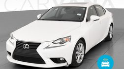 2015 Lexus IS 250 IS 250 Sedan 4D
