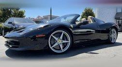 2012 Ferrari 458 Spider Base