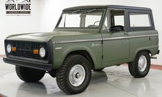 1971 Ford Bronco UNCUT EARLY BRONCO 302V8 FULL HARD TOP