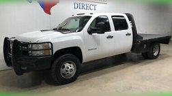 2013 Chevrolet Silverado 3500 FREE DELIVERY 3500 DRW 4x4 Flat Bed Ranch Han