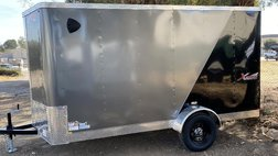 2022 Other Makes XPRES 6X12 TALL ROOF 7FOOT V NOSE RAMP DOOR