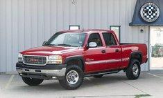 2002 GMC Sierra 2500 SLE H/D Crew Cab