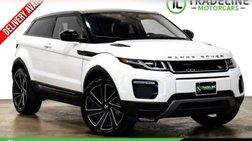 2017 Land Rover Range Rover Evoque Coupe SE Premium