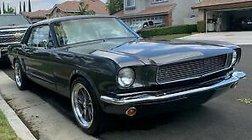 1966 Ford Mustang gun metal grey