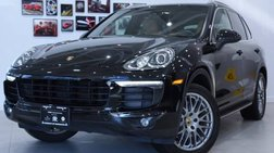 2018 Porsche Cayenne Platinum Ed.