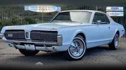 1967 Mercury Cougar Very Rare 1 of 4 With This Color Combo Per Marti