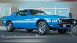 1969 Ford Mustang 428 Cobra Jet | A/C | Grabber Blue |
