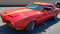 1968 Pontiac Firebird performance