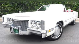 1971 Cadillac Eldorado Beautiful Original Survivor
