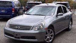 2006 Infiniti G35 x