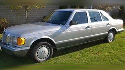 1986 Mercedes-Benz 560-Class 560 SEL