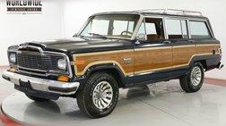 1983 Jeep Wagoneer TIME CAPSULE 360 V8 AC 87K MILES. DOCUMENTED