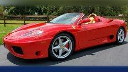 2001 Ferrari 360 SPIDER~ RED/TAN!! ~F1~ CLEAN HISTORY! BEST COLORS!