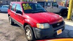 2002 Ford Escape XLS Choice