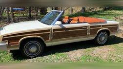1983 Chrysler Le Baron Marc Cross Edition