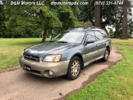 2001 Subaru Outback VDC