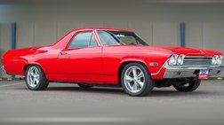 1968 Chevrolet El Camino Blueprint 355 V8   700R4 Overdrive   17'' Wheels