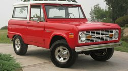 1970 Ford Bronco Comprehensive Nut & Bolt Frame-Off Restoration