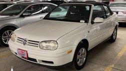 2002 Volkswagen Cabrio GLX