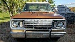 1977 Dodge Camper Special