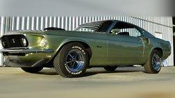 1969 Ford Mustang SportsRoof 428 Super Cobra Jet Ram-Air Drag Pack