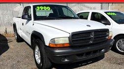 2002 Dodge Dakota Club Cab 2WD