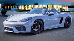 2021 Porsche 718 Boxster Spyder